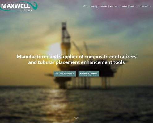 Maxwell Oil Tools Composite centralizers
