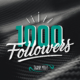 A Special Thank You to our 1k+ Followers on LinkedIn